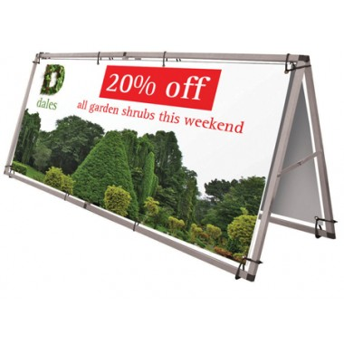 Monsoon Banner Stand