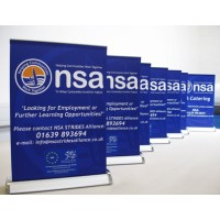 A3 Desk Top Roll Up Banner